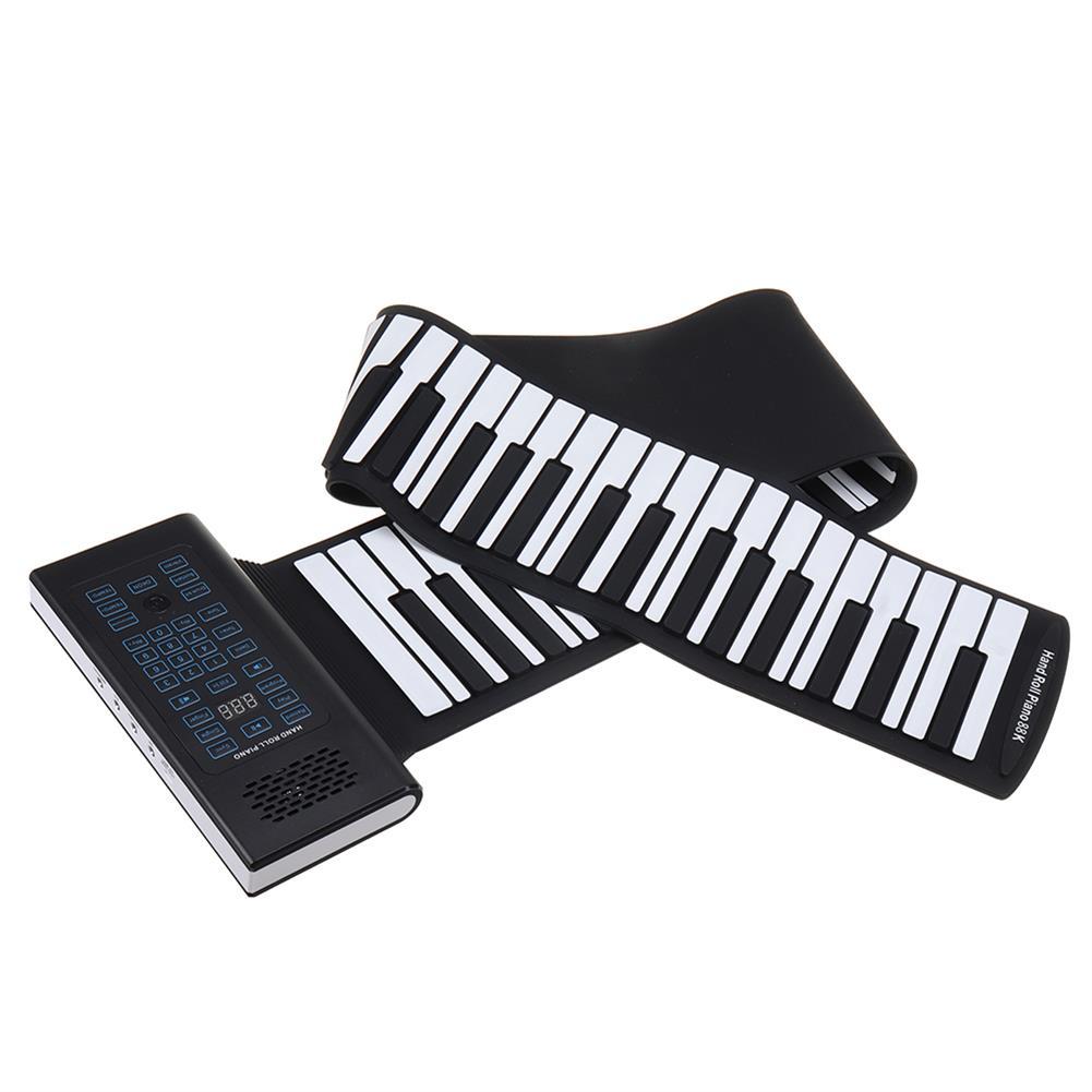 roll-up-piano Bora BR-A88 88 Standard Keys Foldable Portable Electronic Keyboard Roll Up Piano HOB1768485 3
