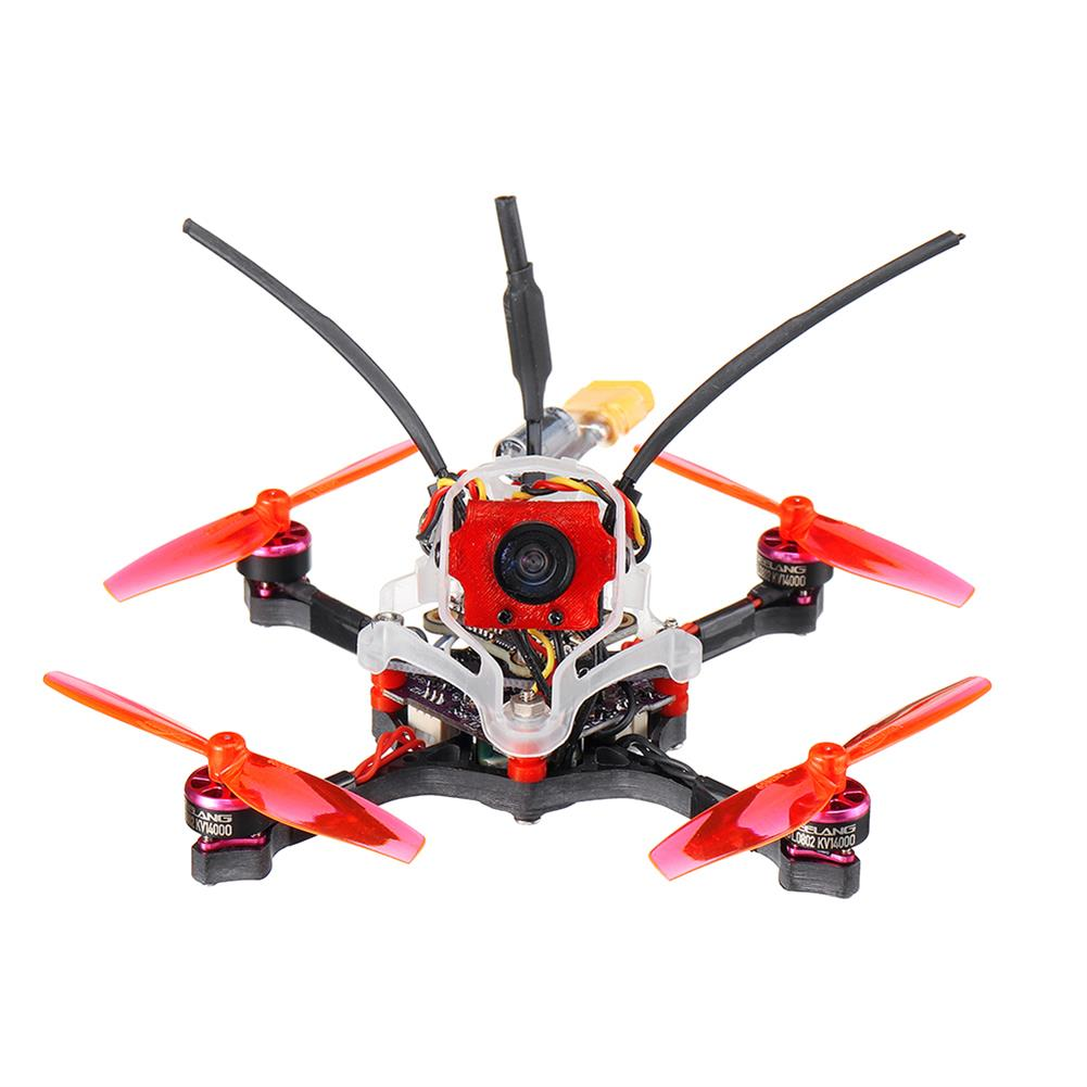 fpv-racing-drone 35g GEELANG WASP V2 100mm Wheelbase Play F4 Whoop 2S FC 4 in 1 ESC Toothpick FPV Racing Drone BNF with 1/4 COMS Sensor Camera HOB1770128 1