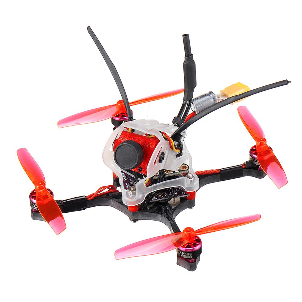 fpv-racing-drone 35g GEELANG WASP V2 100mm Wheelbase Play F4 Whoop 2S FC 4 in 1 ESC Toothpick FPV Racing Drone BNF with 1/4 COMS Sensor Camera HOB1770128 2