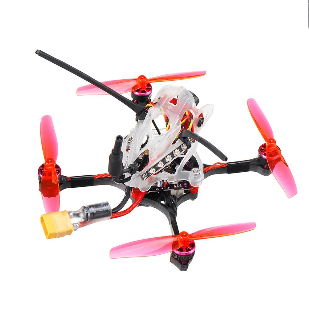 fpv-racing-drone 35g GEELANG WASP V2 100mm Wheelbase Play F4 Whoop 2S FC 4 in 1 ESC Toothpick FPV Racing Drone BNF with 1/4 COMS Sensor Camera HOB1770128 3