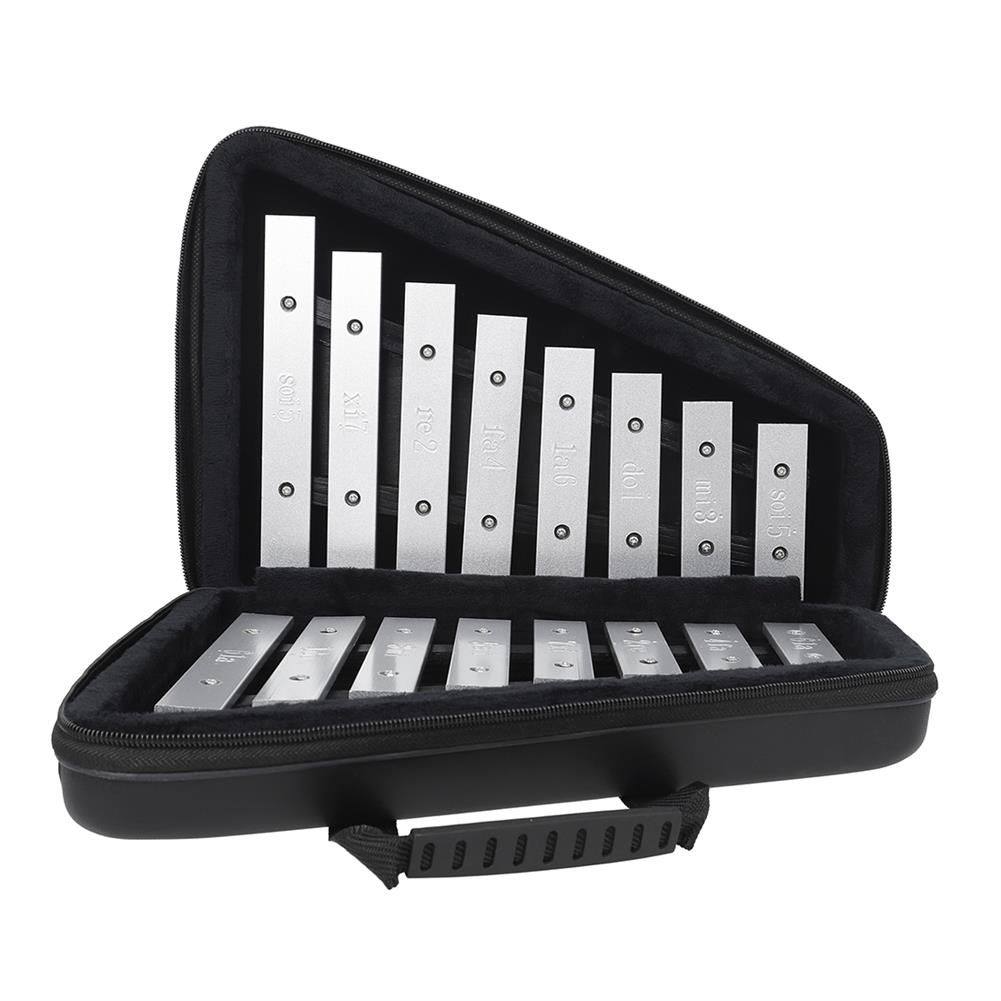 orff-instruments AF-30 Orff Musical instrument Double Row 16 Keys Aluminum Piano Leather Box for Children Educational Toy HOB1770764 2