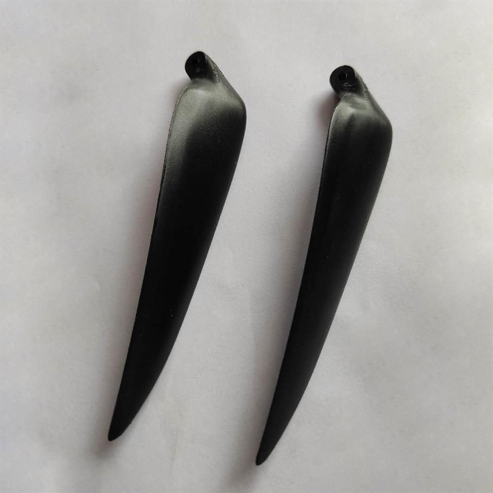 rc-airplane-parts 1 Pair 11 inch 1160 11*6 Nylon & Glassfiber Folding Propeller for RC Airplane HOB1771369 1