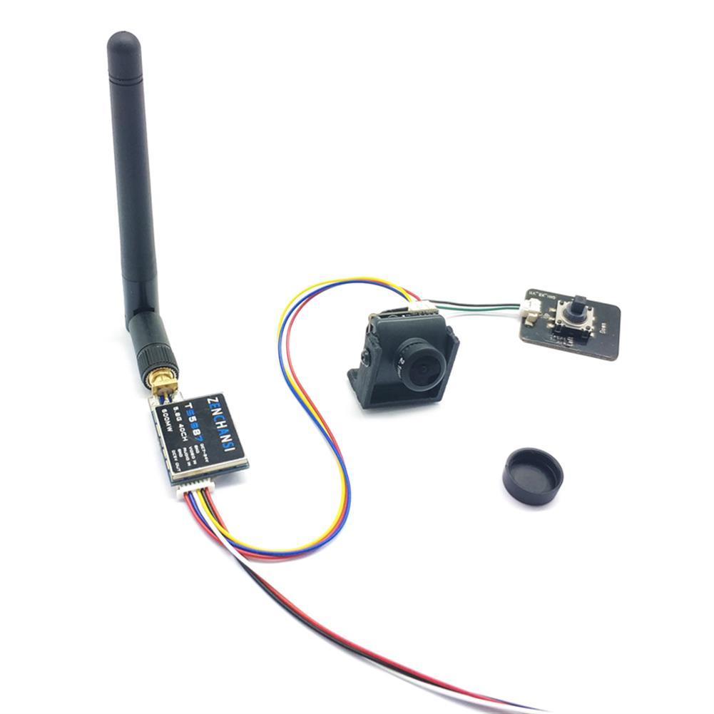 fpv-system EWRF TS5887 5.8G 40CH 600mW FPV Transmitter +1/3 CMOS Sensor 2.1mm 1200 TVL NTSC/PAL Switchable FPV Camera Combo for FPV Racing RC Drone HOB1771614 2