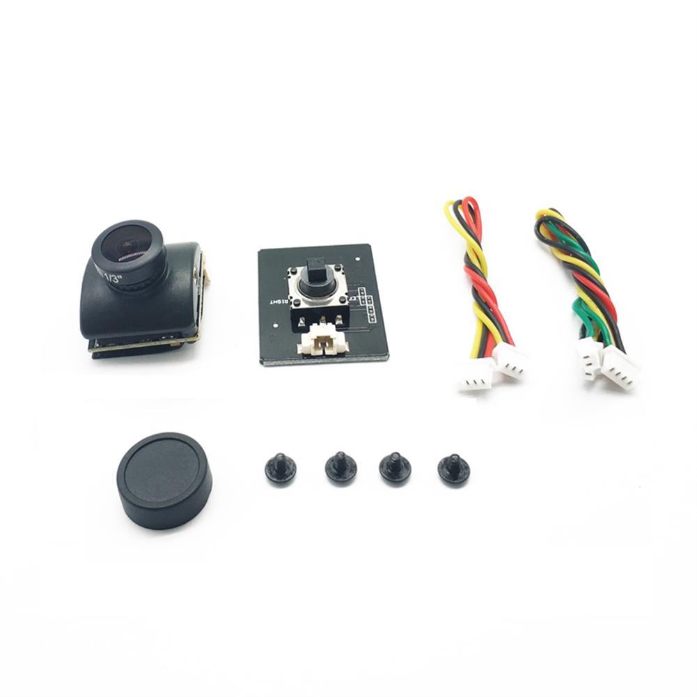 fpv-system EWRF TS5887 5.8G 40CH 600mW FPV Transmitter +1/3 CMOS Sensor 2.1mm 1200 TVL NTSC/PAL Switchable FPV Camera Combo for FPV Racing RC Drone HOB1771614 3