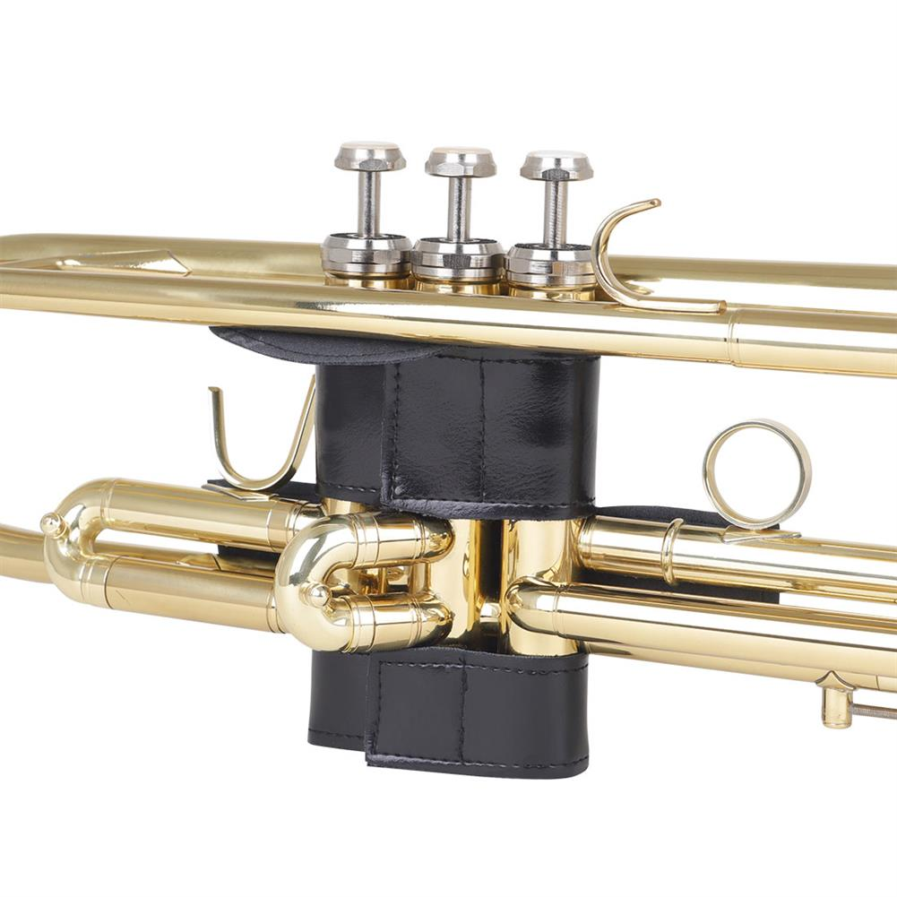 woodwind-brass-accessories ND05B Trumpet Leather Protective Sleeve for Musical instrument Accessory HOB1771713 1