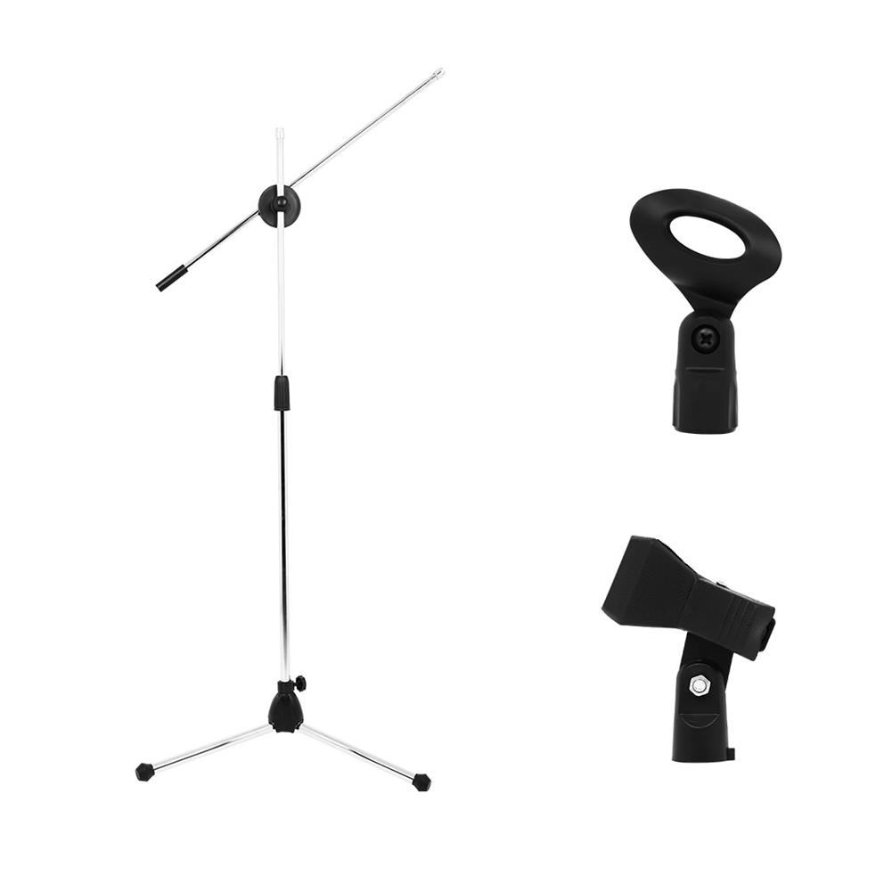 strings-accessories HL-13 Microphone Stand Live Performance Vertical Bold Multifunctional Dual Regulation Wheat Clip HOB1771717