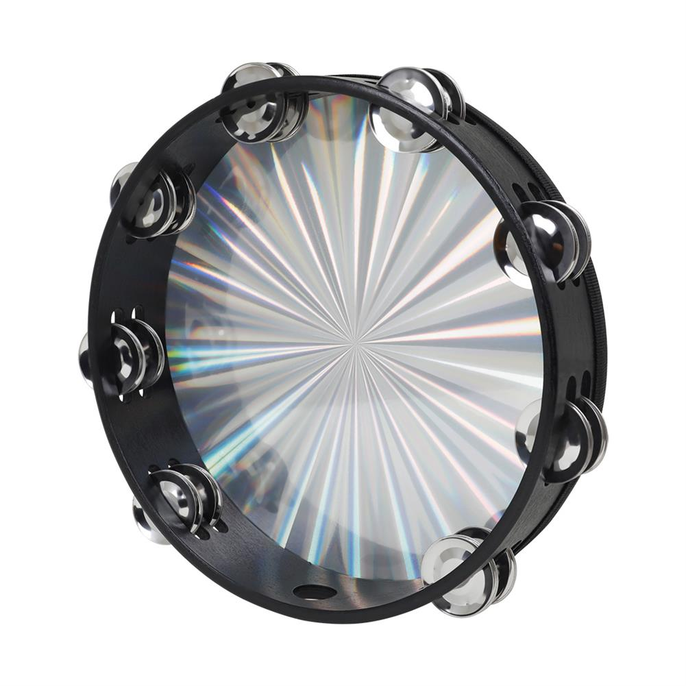 orff-instruments Mibet DT-63 10 inch Laser Double Row Hand Tambourine Orff instruments for Children Educational Toys HOB1771756 1