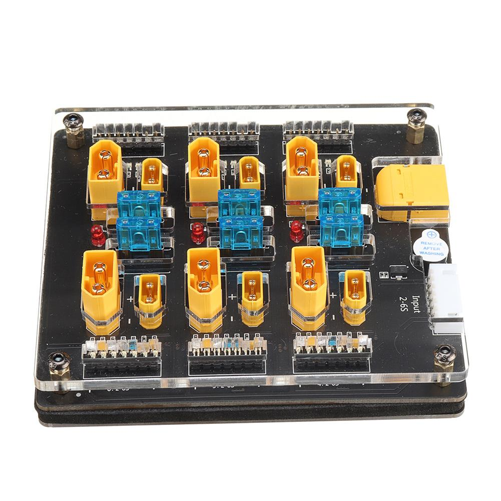 battery-charger URUAV Blacklight B6pro 60A XT60 XT30 Plug 2-6S Lipo Battery Charger Board for IMAX B6 ISDT Q6 Nano HOTA D6 Pro P6 Charger HOB1773116 1