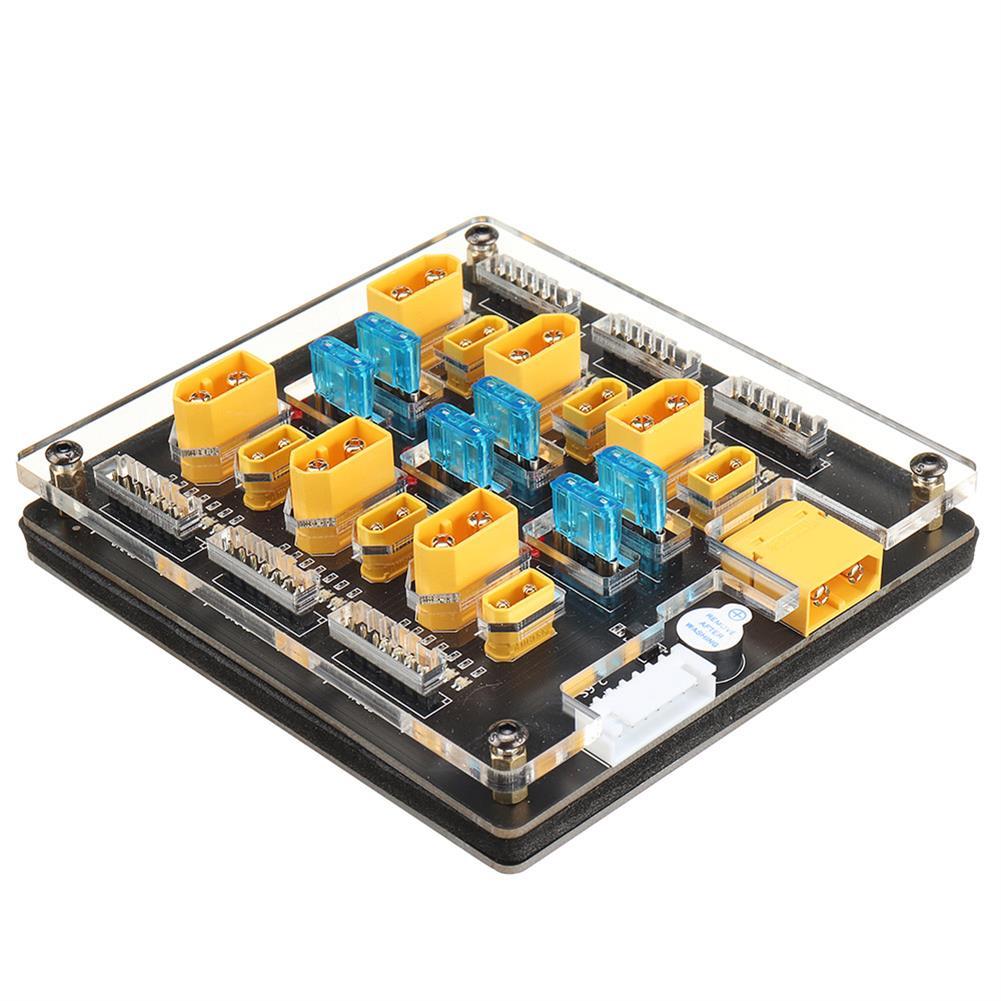 battery-charger URUAV Blacklight B6pro 60A XT60 XT30 Plug 2-6S Lipo Battery Charger Board for IMAX B6 ISDT Q6 Nano HOTA D6 Pro P6 Charger HOB1773116 3