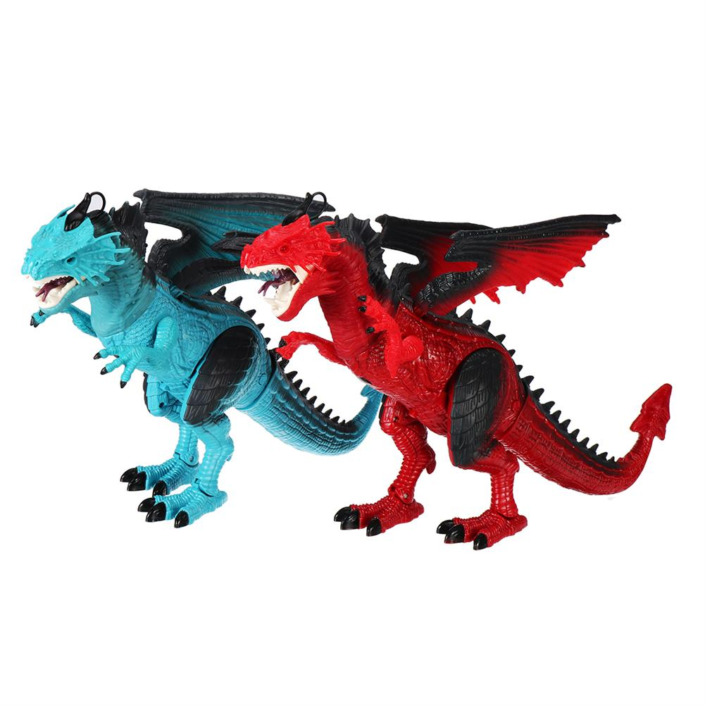 diecasts-model-toys Remote Control 360 Rotate Spray Dinosaur with Sound LED Light and Simulate Flame Diecast Model Toy for Kids Gift HOB1773231 1