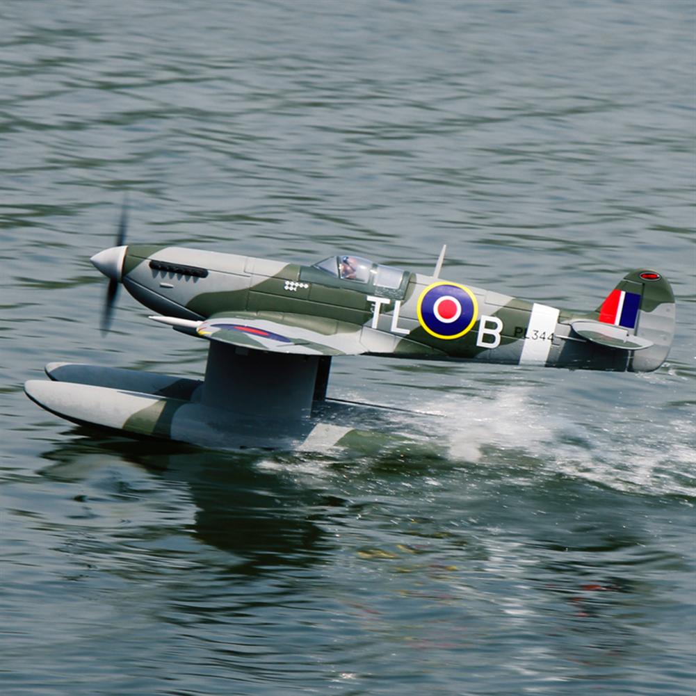 rc-airplane Dynam Supermarine Spitfire MK.VB 1200mm Wingspan EPO Seaplane RC Airplane PNP with Flaps HOB1773936