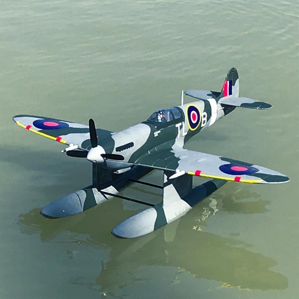rc-airplane Dynam Supermarine Spitfire MK.VB 1200mm Wingspan EPO Seaplane RC Airplane PNP with Flaps HOB1773936 2
