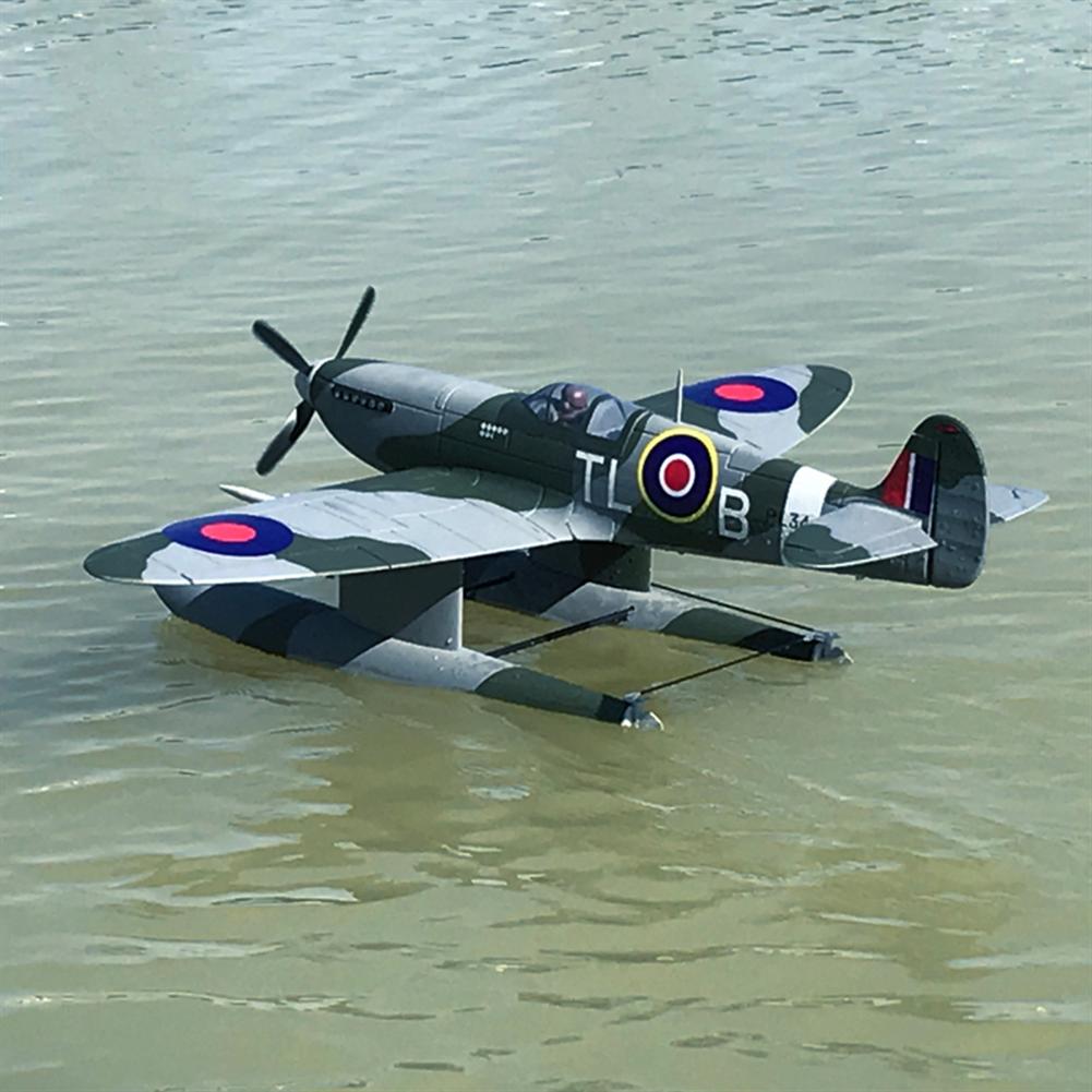 rc-airplane Dynam Supermarine Spitfire MK.VB 1200mm Wingspan EPO Seaplane RC Airplane PNP with Flaps HOB1773936 3