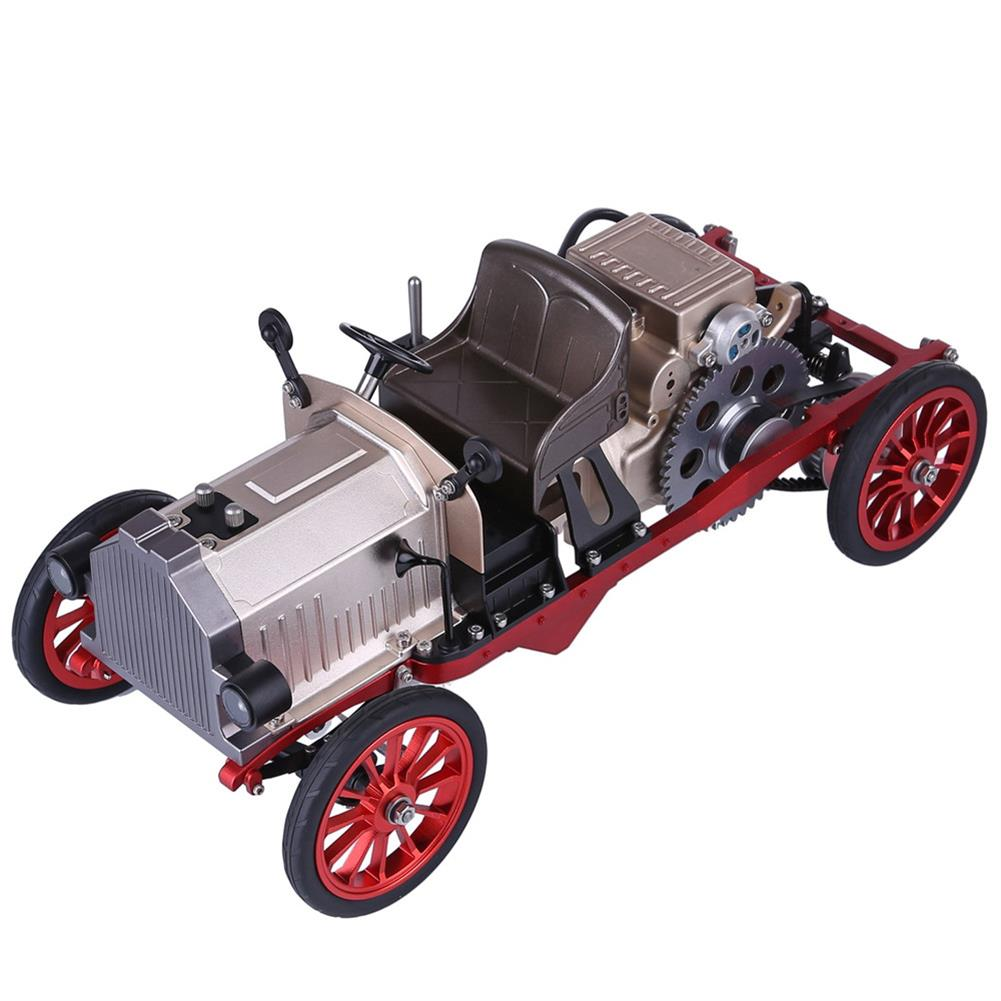 science-discovery-toys Teching Assembly Vintage Classic Car Metal Mechanical Model Toy with Electric Engine Toys HOB1774891 1