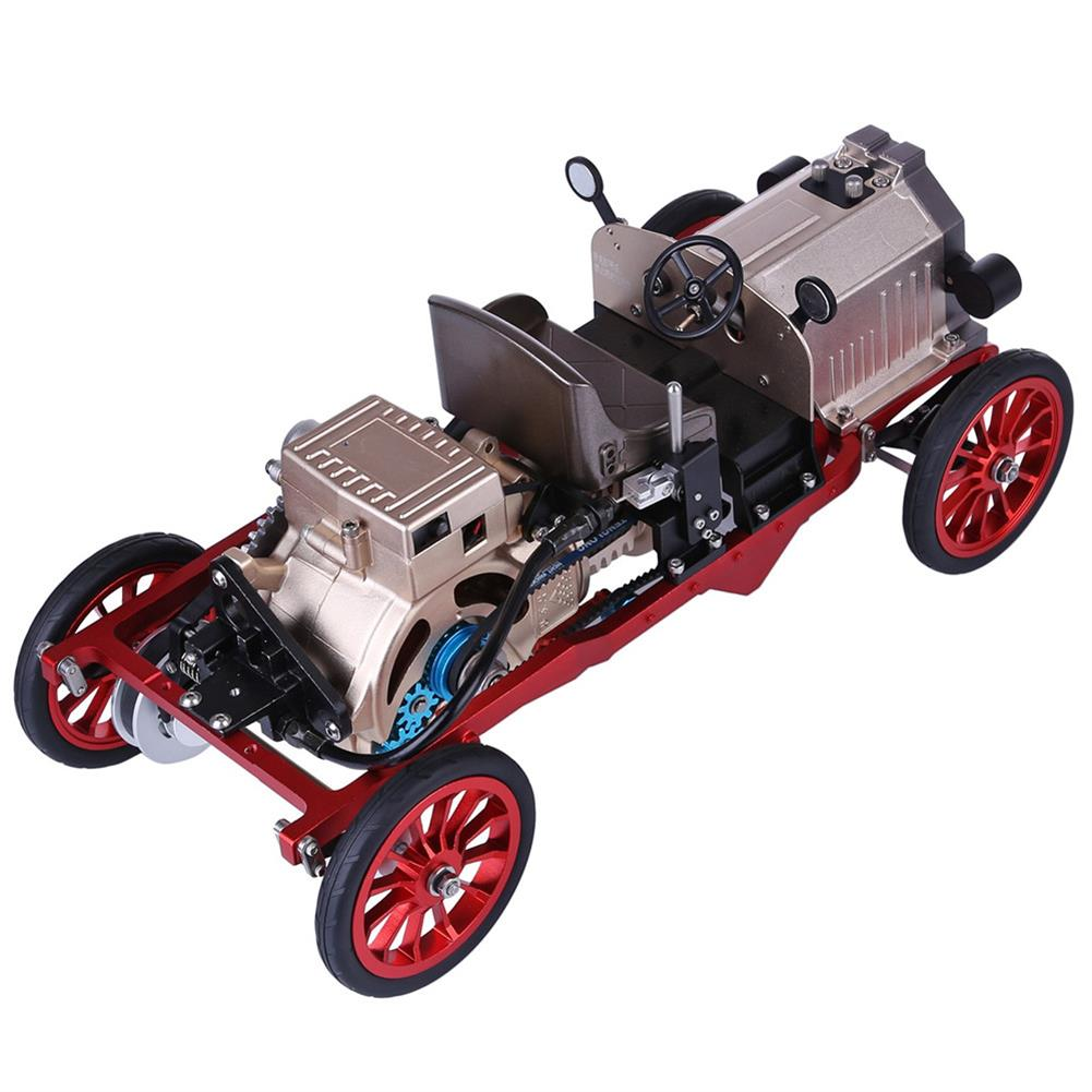 science-discovery-toys Teching Assembly Vintage Classic Car Metal Mechanical Model Toy with Electric Engine Toys HOB1774891 2