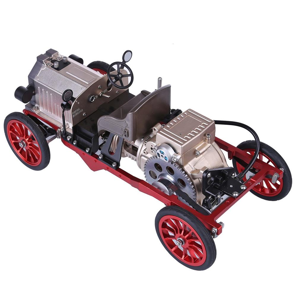 science-discovery-toys Teching Assembly Vintage Classic Car Metal Mechanical Model Toy with Electric Engine Toys HOB1774891 3