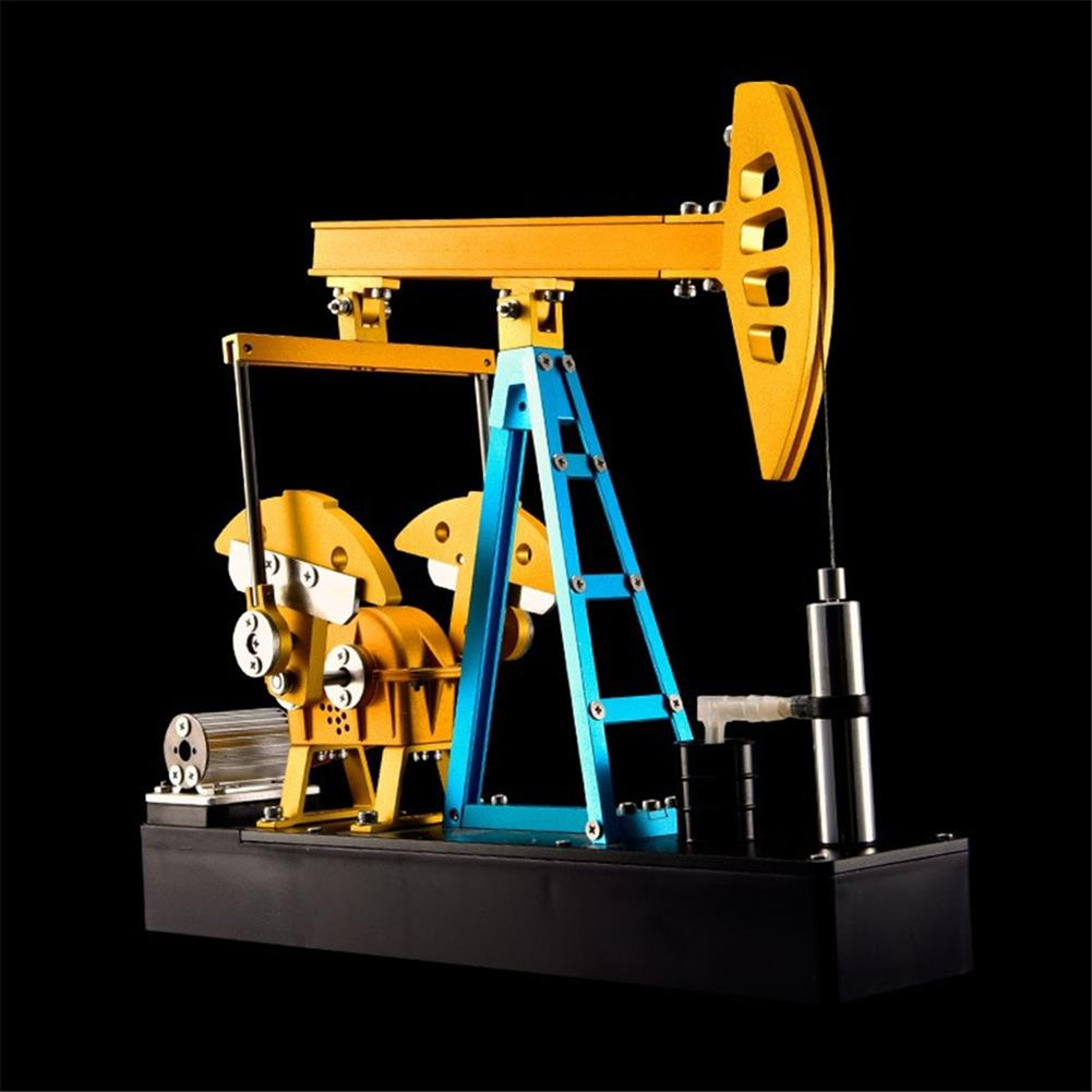 science-discovery-toys Teching Assembly Pumping Unit Metal Assembly Model Simulation Puzzle Teaching DIY Toy Gift HOB1774894 2