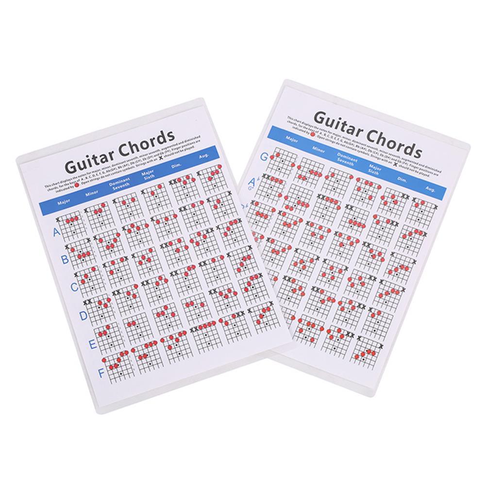 guitar-accessories Ukulele Classical Electric Guitar Chords Folk Guitar Chord Fingering Chart Practice Chart HOB1775065 1