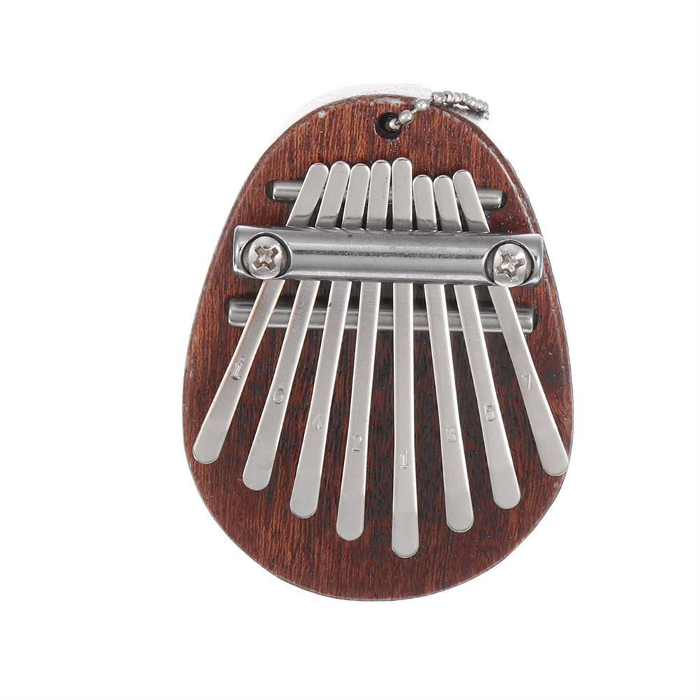 kalimba Mini 8 Key Mbira Kalimba Finger Piano Portable Wood Board Music instrument Gift HOB1775377