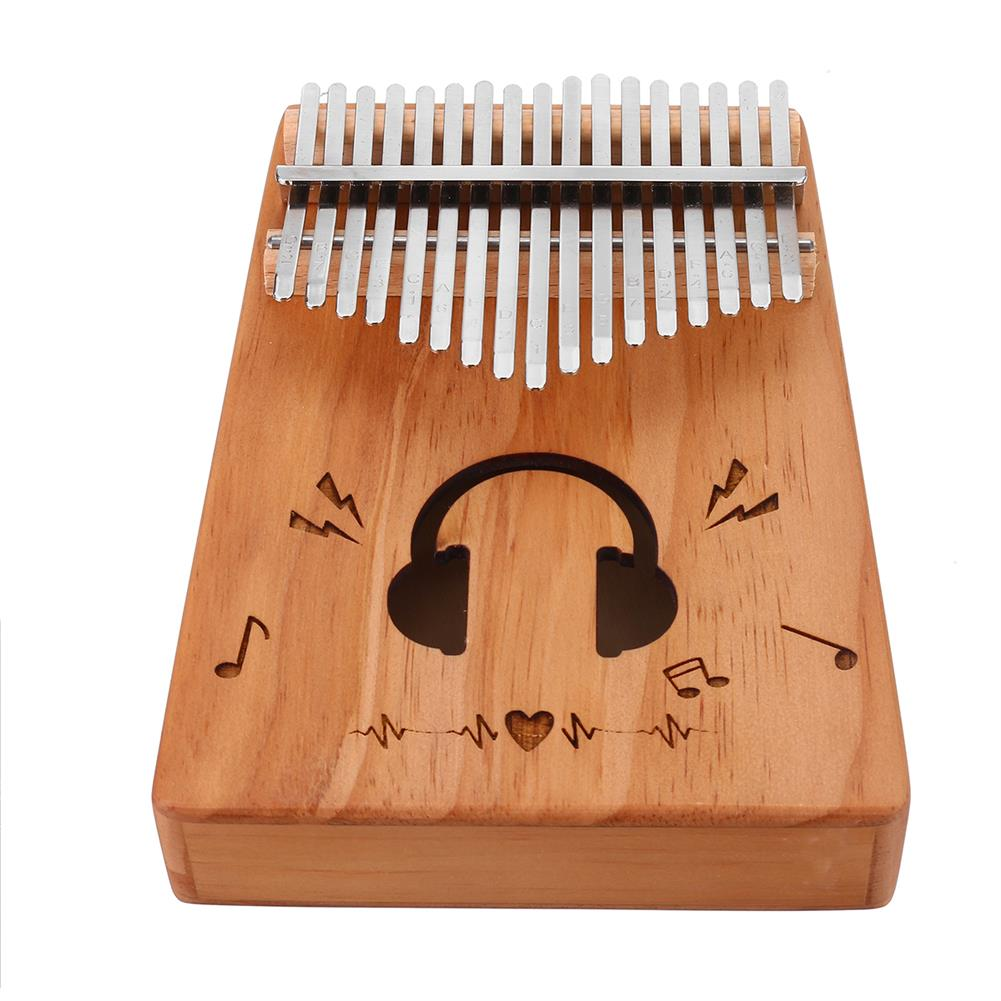 kalimba 17 Key Kalimba Spruce Wood Thumb Piano Finger Musical instrument Toy Beginner HOB1775383 1