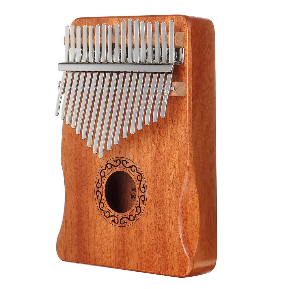 kalimba 17 Key Kalimba Thum Finger Piano Beginner Practical Wood Muscial instrument Set HOB1775400 1