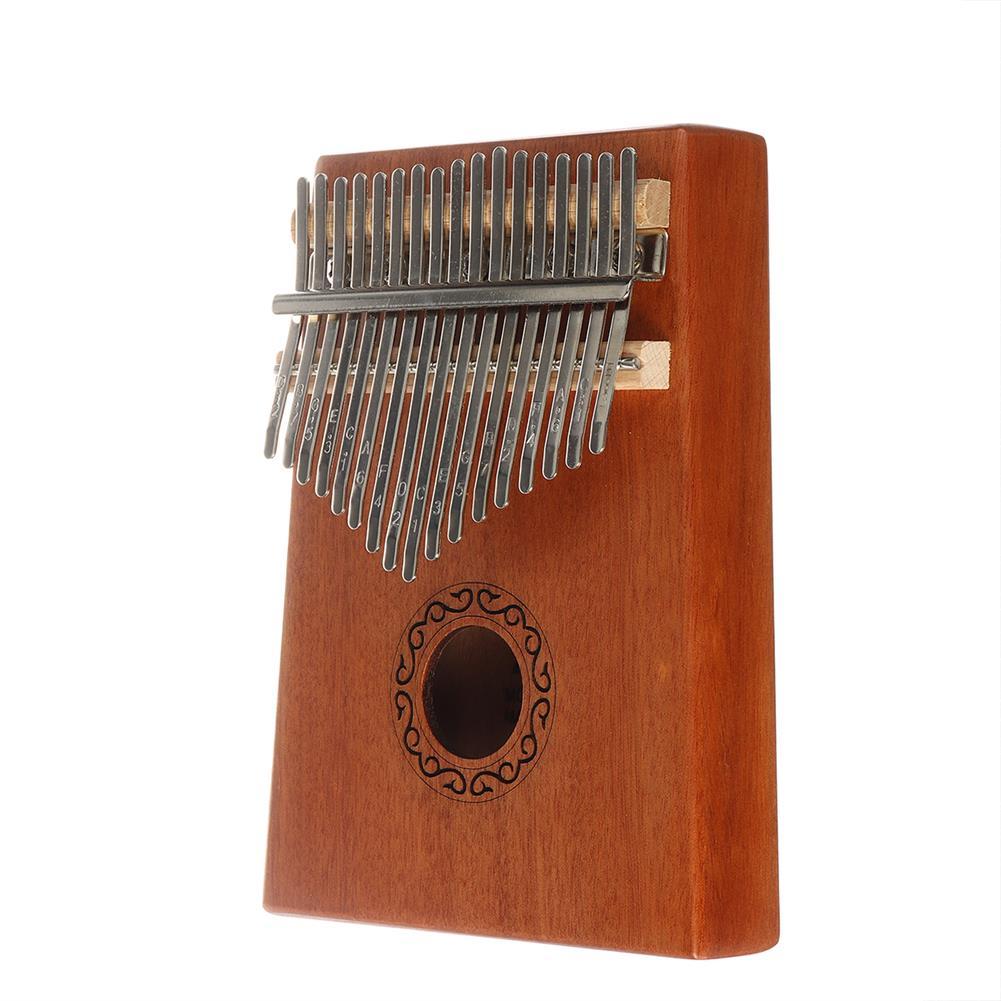 kalimba 17 Key Kalimba Thum Finger Piano Beginner Practical Wood Musical instrument Kit HOB1776088 2