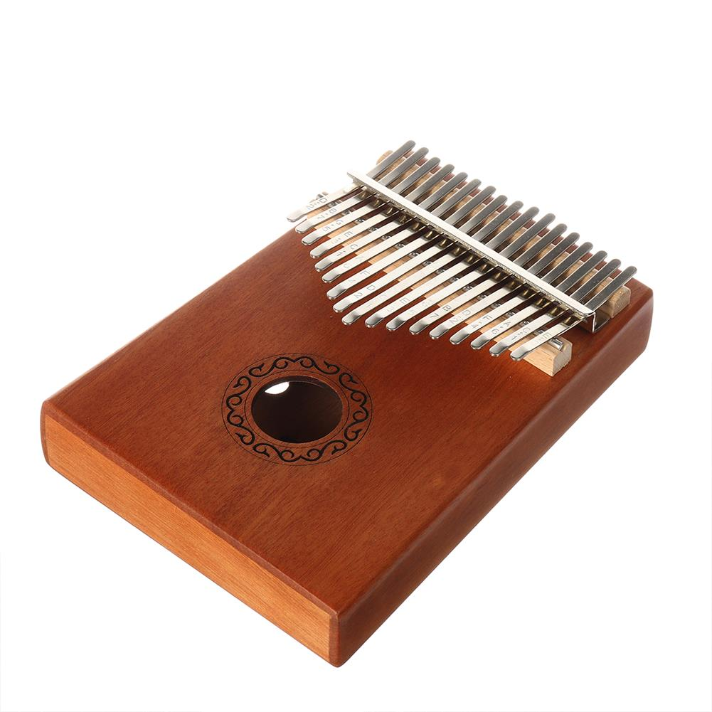 kalimba 17 Key Kalimba Thum Finger Piano Beginner Practical Wood Musical instrument Kit HOB1776088 3