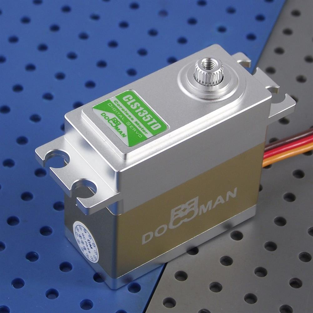 rc-airplane-parts DORCRCMAN DM-CLS135TD 75g 14.5kg/cm Torque 4.8-7.4V Metal Gear Digital Servo for RC Airplane HOB1776467