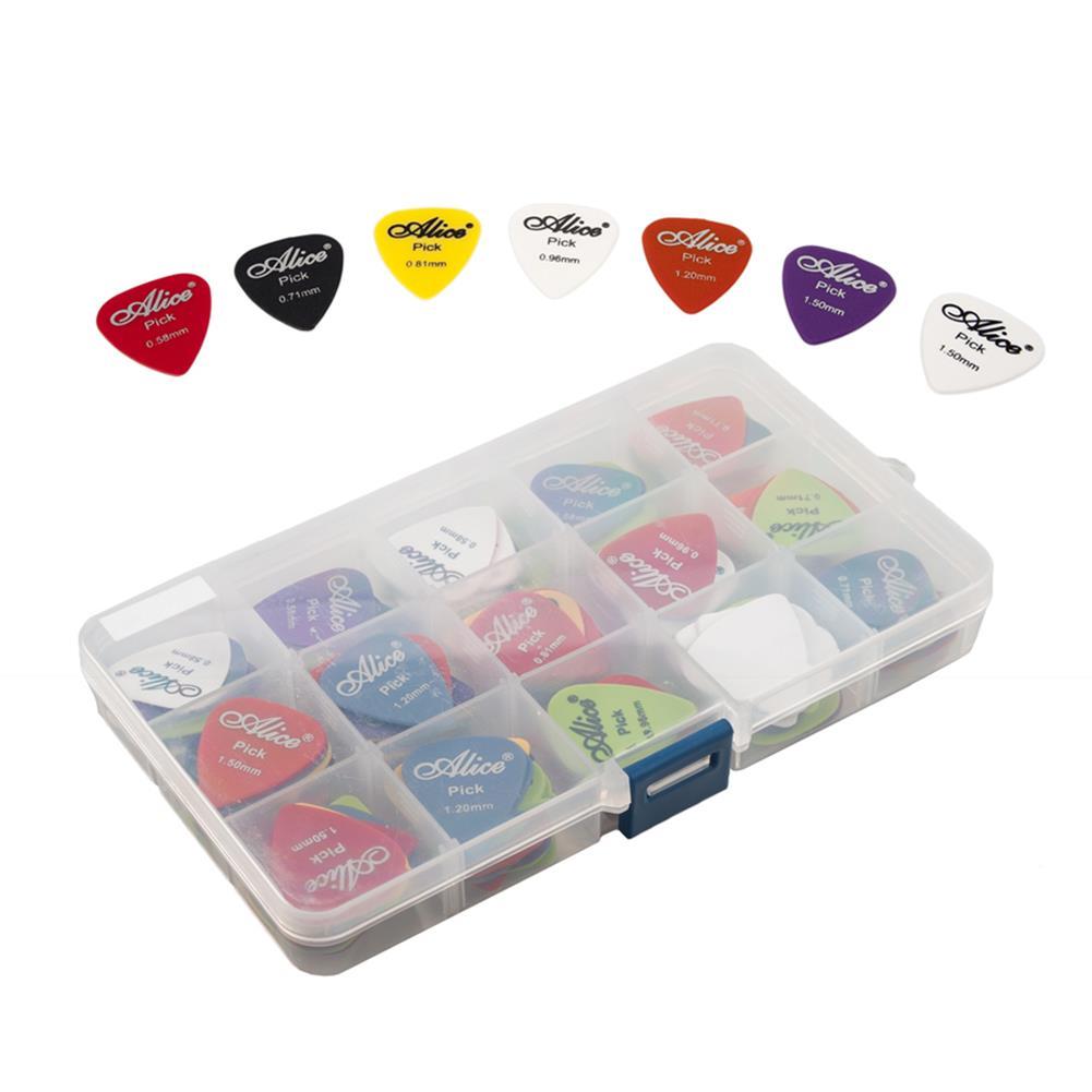 guitar-accessories Alices 100PCS Electric Guitar Picks for Guitar instrument HOB1777663