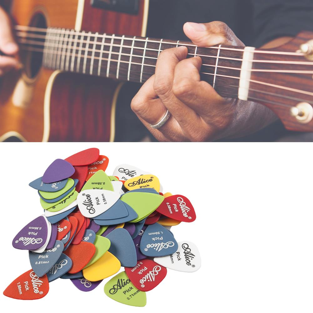 guitar-accessories Alices 100PCS Electric Guitar Picks for Guitar instrument HOB1777663 2