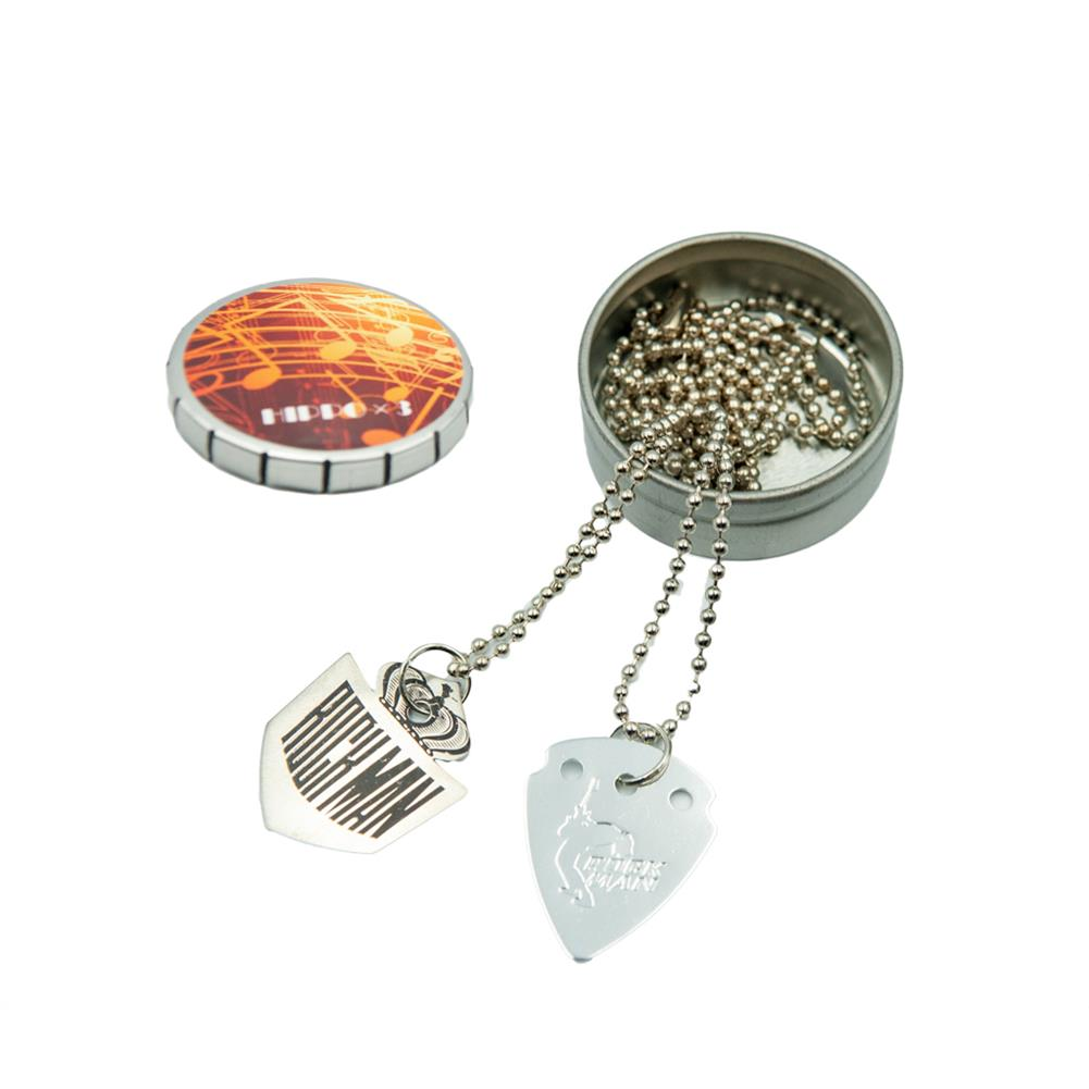 guitar-accessories NAOMI Electric Guitar Pick Necklace Stainless Steel Pendant for Guitar Accessories HOB1777692