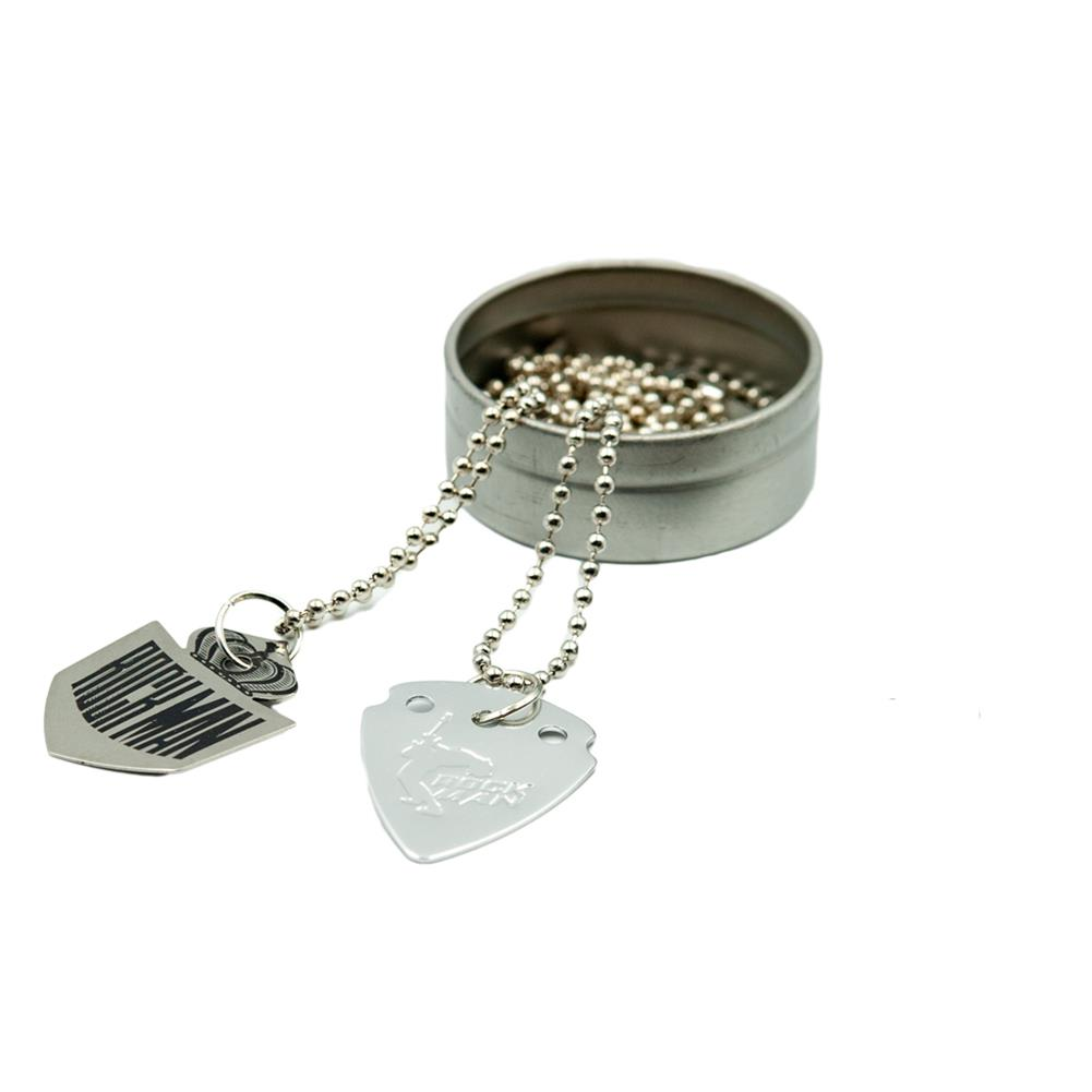 guitar-accessories NAOMI Electric Guitar Pick Necklace Stainless Steel Pendant for Guitar Accessories HOB1777692 2