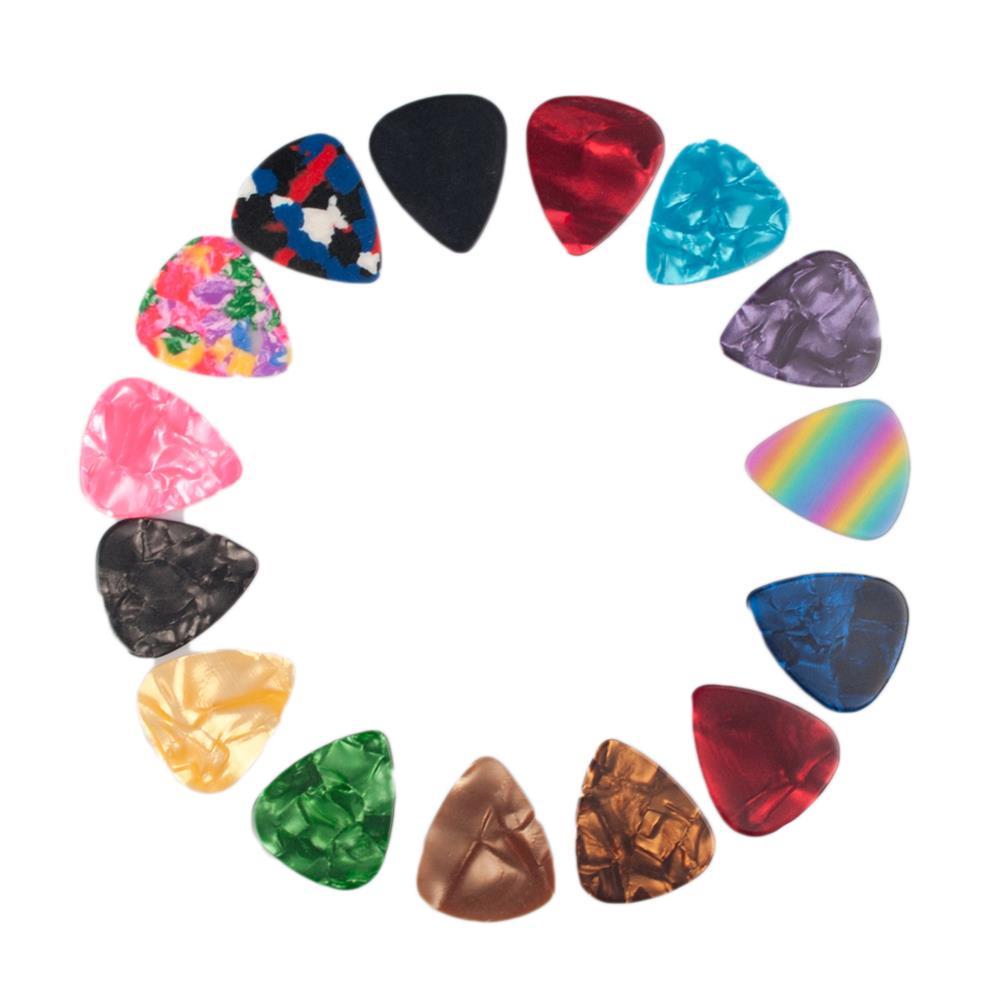 guitar-accessories NAOMI 500PCS without Standard Guitar Picks Celluloid Picks HOB1777826