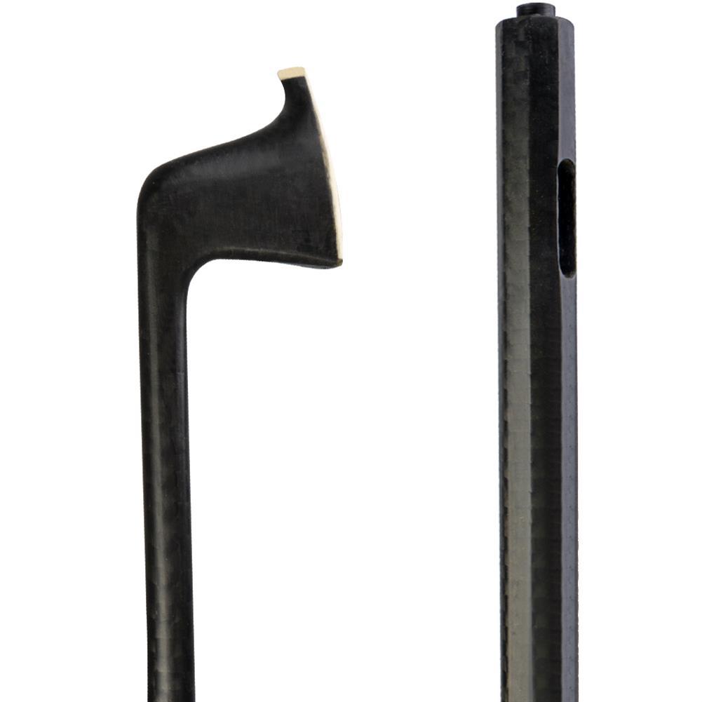 strings-accessories NAOMI Semi Finished Carbon Fiber Check Violin Bow for 4/4 Violin HOB1777855 1