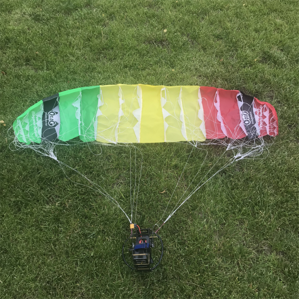 rc-airplane-parts XYModel Electric Remote Control RC Paraglider Paragliding Mini Wireless Parachute 1500mm 1.5m Wingspan PNP with Motor ESC Servo for RC Airplane HOB1778030