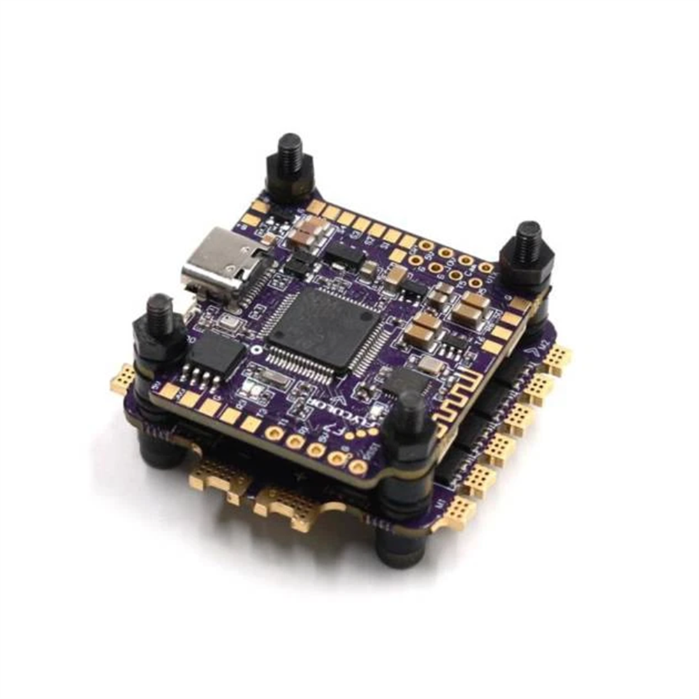 multi-rotor-parts 30.5x30.5mm FlyColor X-Tower 2 F7 Bluetooth Flight Controller w/ 5V 10V BEC Ouput & 60A BL_32 3-6S 4in1 ESC Support DJI Air Unit RC Drone FPV Racing HOB1778058