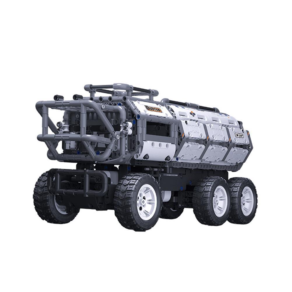 smart-robot-car Jupiter Dawn Series Smart Building Blocks Set Shepherd Carrier Bluetooth 5.0 APP Control Children Educational RC Car Toy HOB1778113