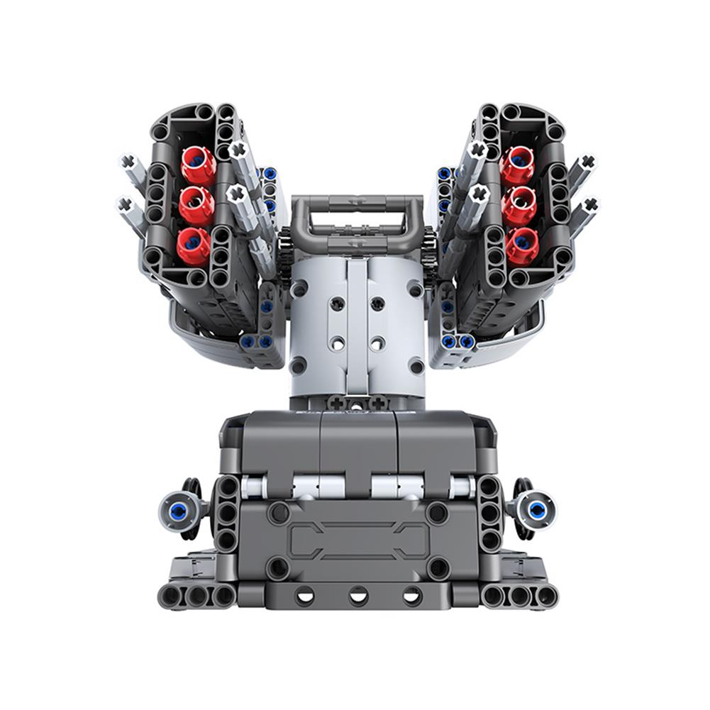 robot-toys Jupiter Dawn Smart Building Blocks Set Scorpio Defenses Tower Bluetooth 5.0 APP Control Children Educational RC Robot Toy HOB1778129 2