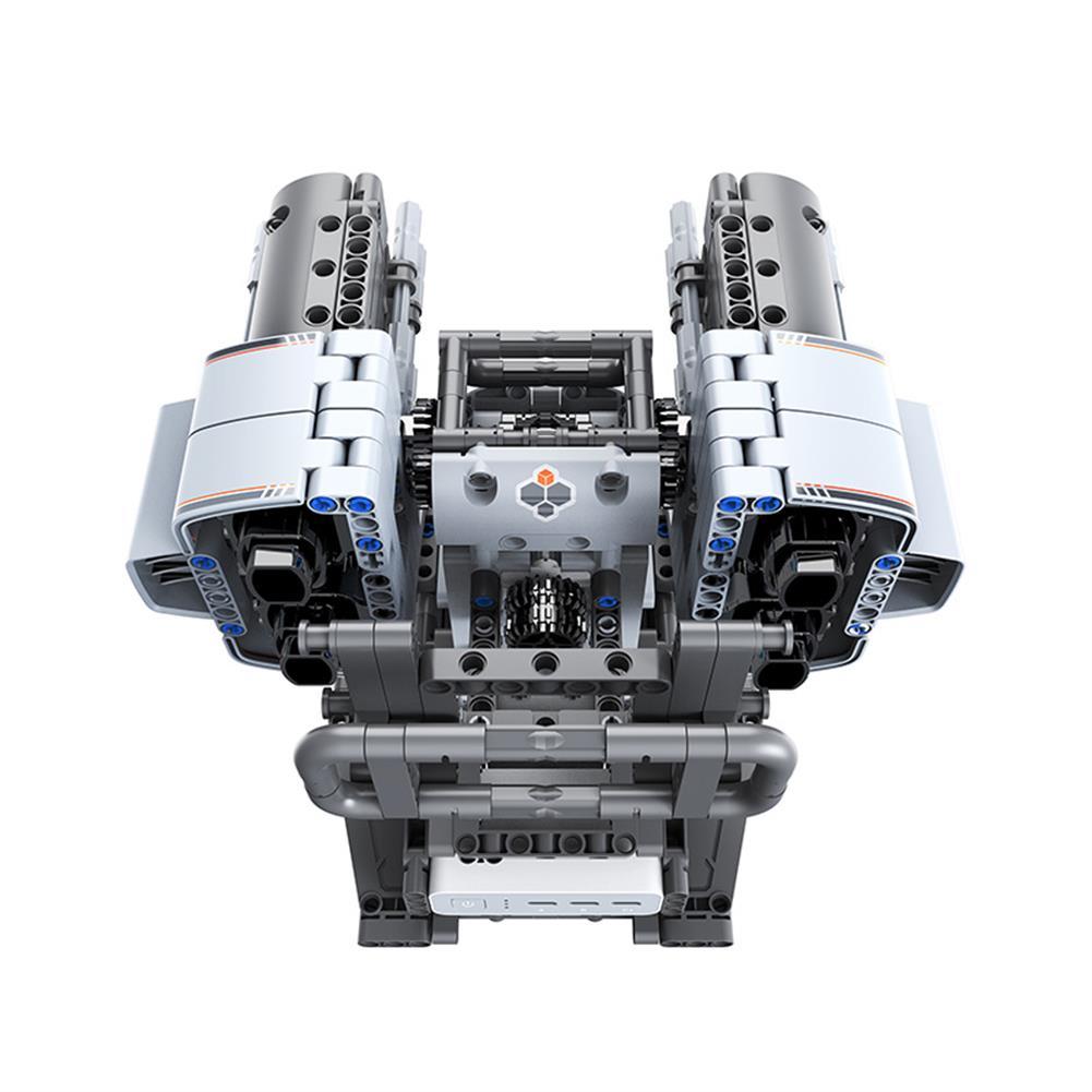 robot-toys Jupiter Dawn Smart Building Blocks Set Scorpio Defenses Tower Bluetooth 5.0 APP Control Children Educational RC Robot Toy HOB1778129 3
