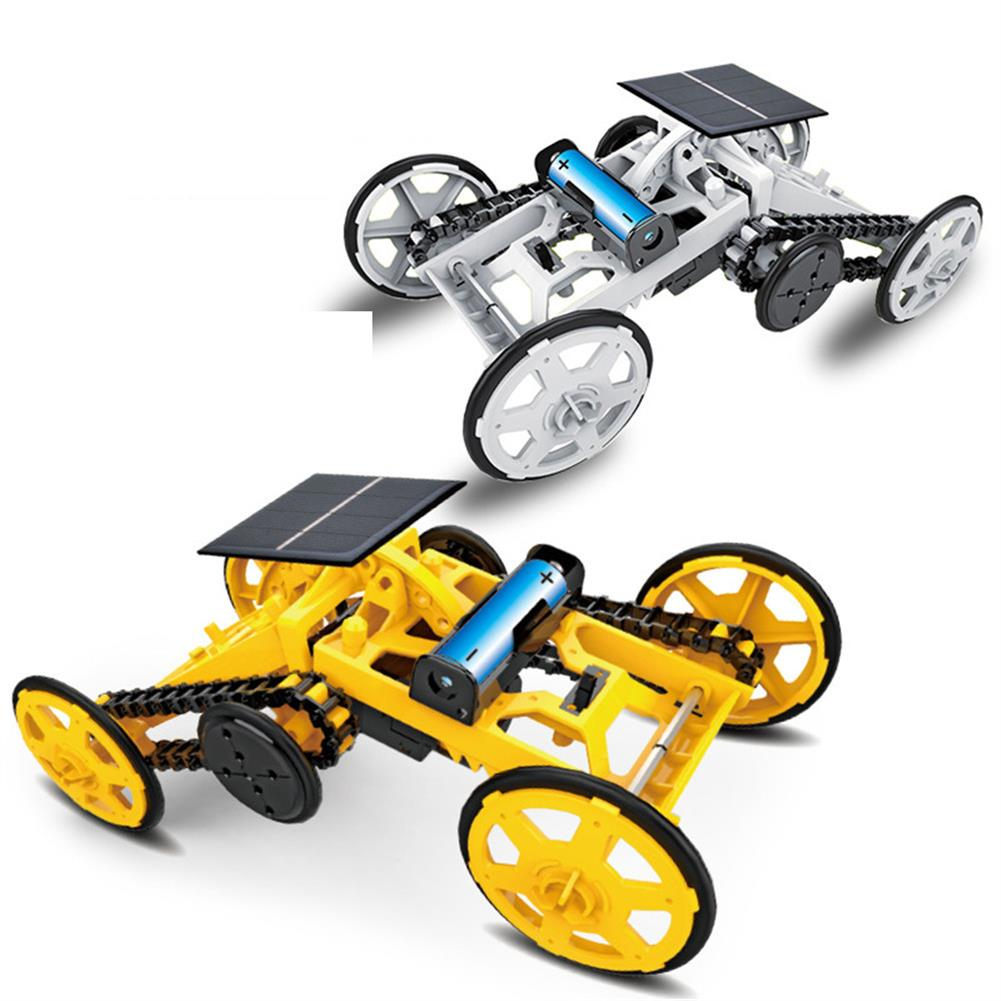 solar-powered-toys DIY Solar Assembled Electric Building Block Car STEM Science And Education Children's Educational Electric Model Toy HOB1779248