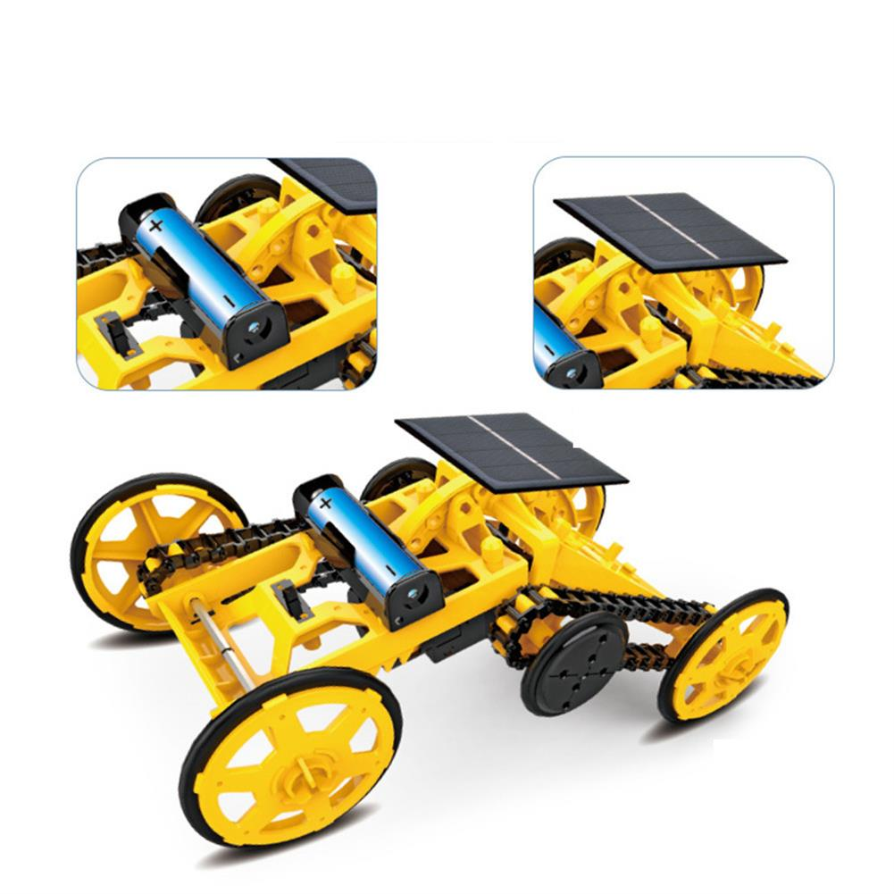 solar-powered-toys DIY Solar Assembled Electric Building Block Car STEM Science And Education Children's Educational Electric Model Toy HOB1779248 1
