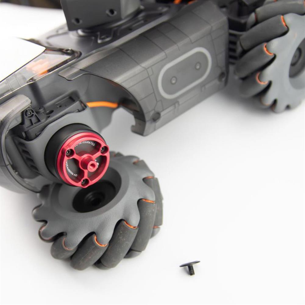 robot-parts-tools DJI RoboMaster S1 Aluminum Alloy Wheel Connector for RC Robot Connector Accessories HOB1779828 2