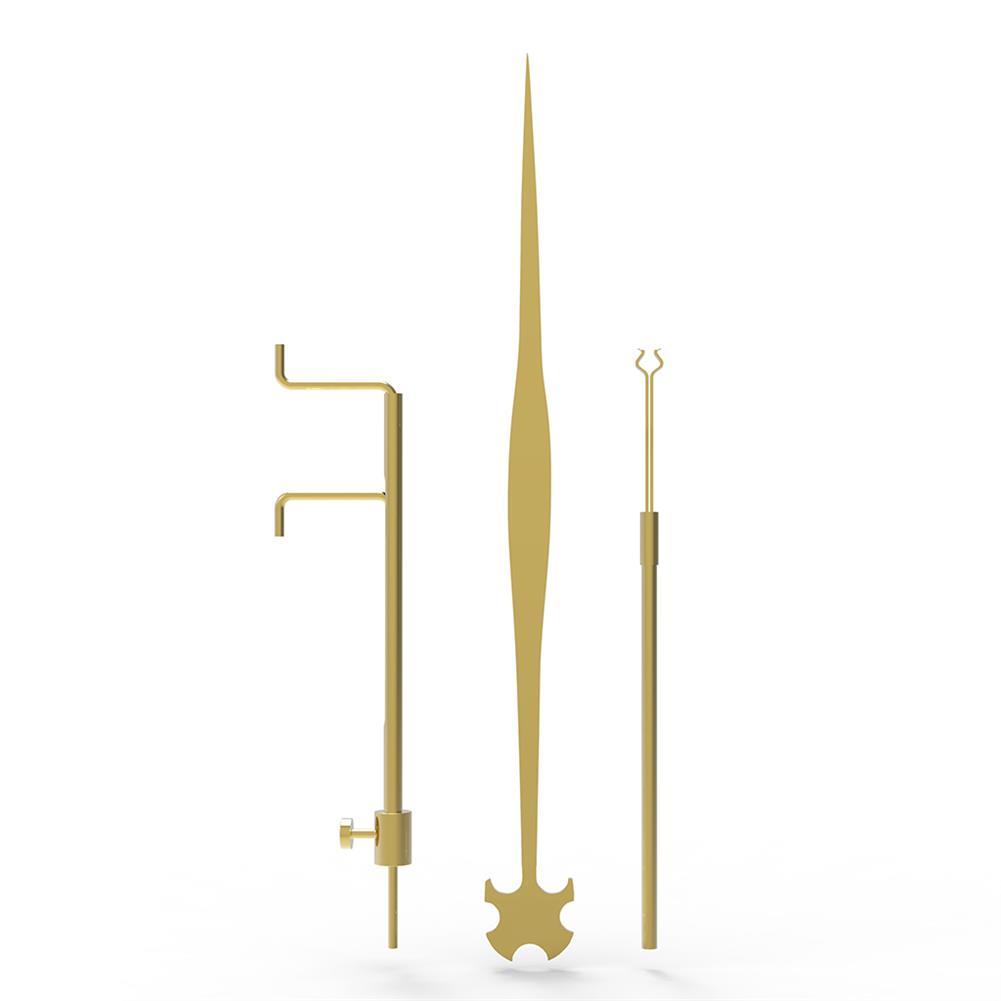 strings-accessories NAOMI Cello 3 Piece Sound Column Hook Column Ruler Caliper for Cello Repair Accessories HOB1780943