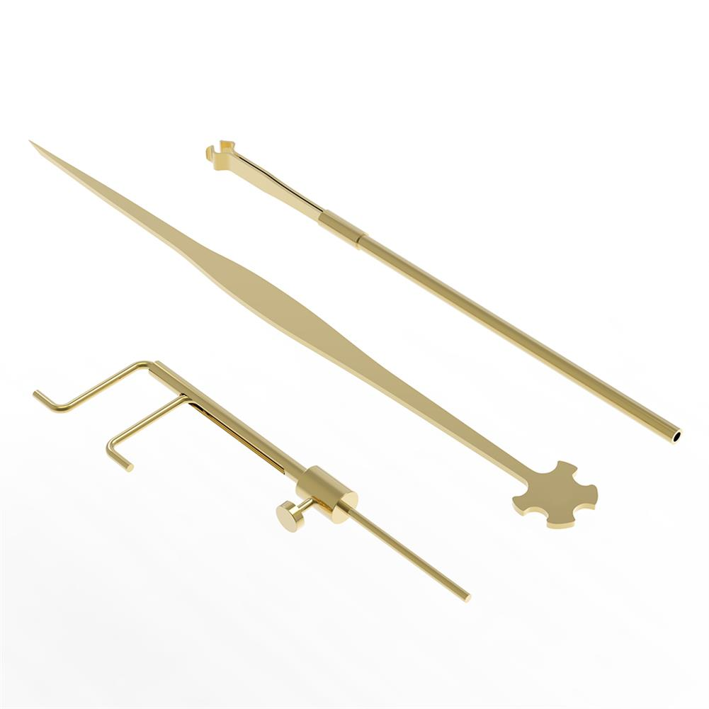 strings-accessories NAOMI Violin 3 Piece Sound Column Hook Column Ruler Caliper for Violin Repair Accessories HOB1780945 1