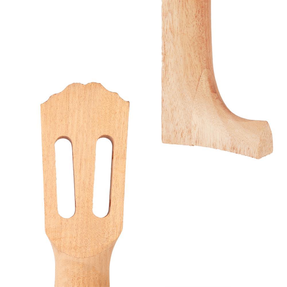 strings-accessories NAOMI Wave Head Ukulele Head Neck Acacia for 26 inch Ukulele HOB1780950 3