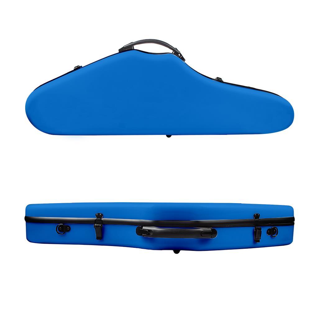 strings-accessories NAOMI Composite Carbon Fiber Full Size Frosted Violin Case Cutaway Grand Hard Violin Case for 4/4 Violin HOB1780957 2