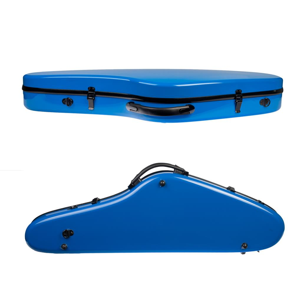 strings-accessories NAOMI Composite Carbon Fiber Full Size Bright Violin Case Cutaway Grand Hard Violin Case for 4/4 Violin HOB1780958 2