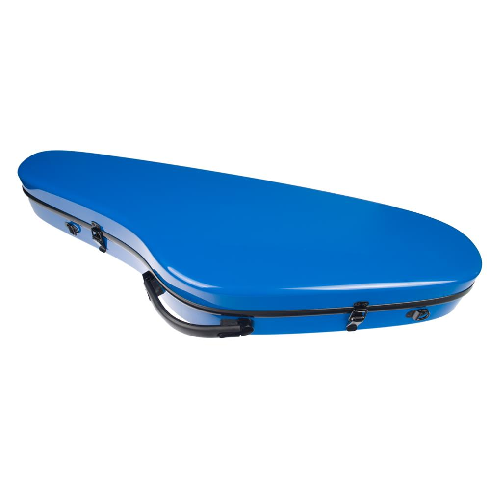 strings-accessories NAOMI Composite Carbon Fiber Full Size Bright Violin Case Cutaway Grand Hard Violin Case for 4/4 Violin HOB1780958 3