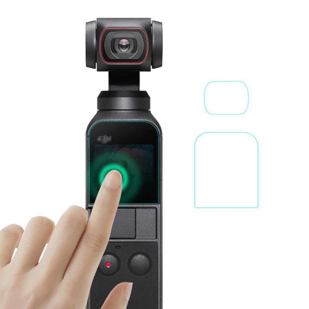 fpv-system 1 Set/ 2 Sets Lens Protective Tempered Film Screen Protector for DJI OSMO POCKET 2 Handheld Gimbal HOB1780959 1