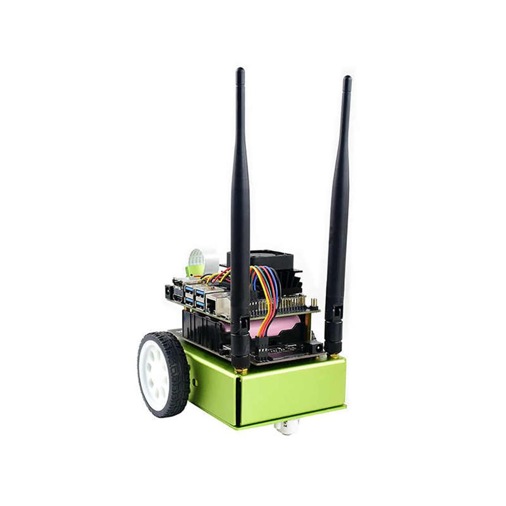 smart-robot JetBot AI Kit AI Robot Based on NVIDIA Jetson Nano Facial Recognition Object Tracking Artificial intelligence Robot Car Kit HOB1781860 1
